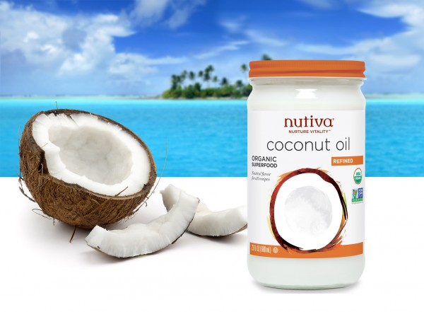 Coconut oil on big veins