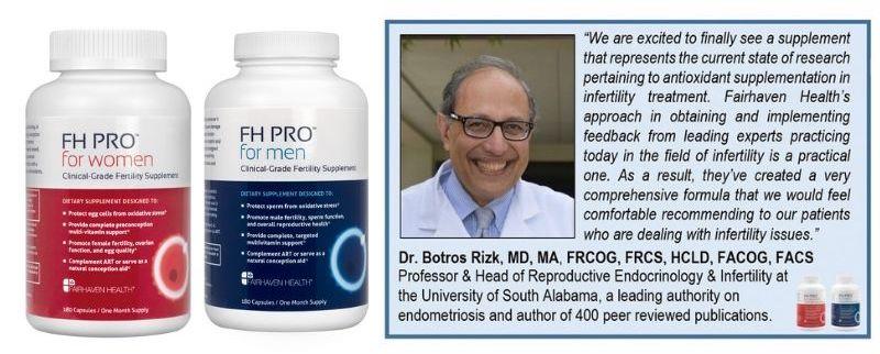 Добавки для улучшение женской и мужской фертильности